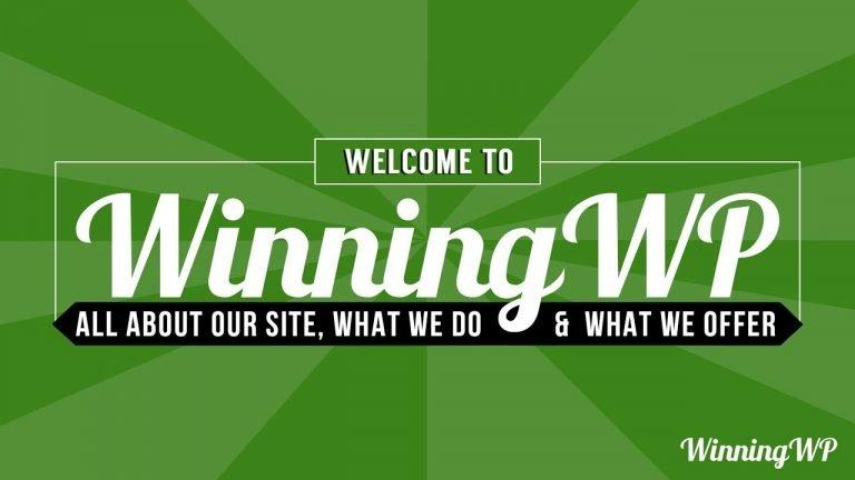 Welcome to WinningWP