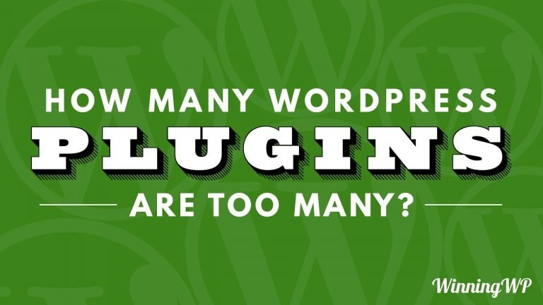 How Many WordPress Plugins Are Too Many?