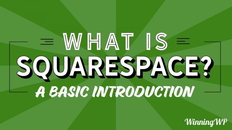 What Is Squarespace? A Basic Introduction