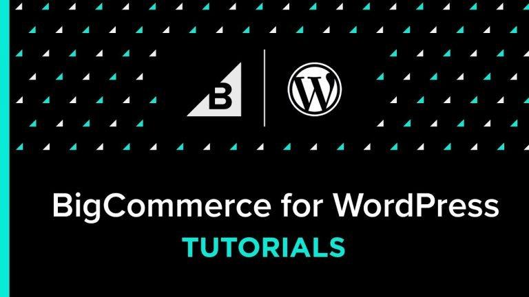 BigCommerce for WordPress Tutorial: How To Change Store Slugs