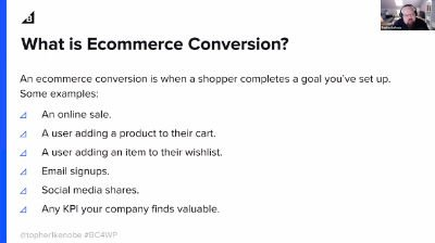 Topher DeRosia: How to increase E-commerce conversions