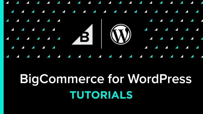 BigCommerce for WordPress Tutorial: Using The Resources Tab