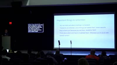 Topher DeRosia: Introduction to the WordPress Transients API